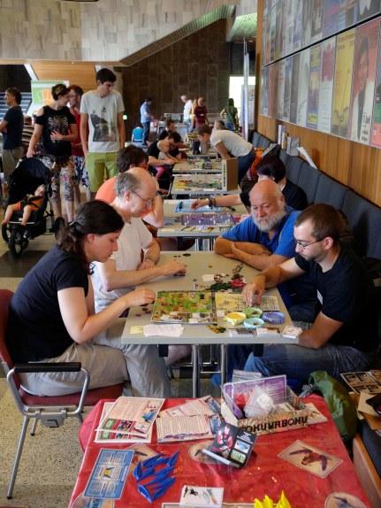 Gö-Spiele Spieleautorentreffen in der Stadthalle - Besuchertag